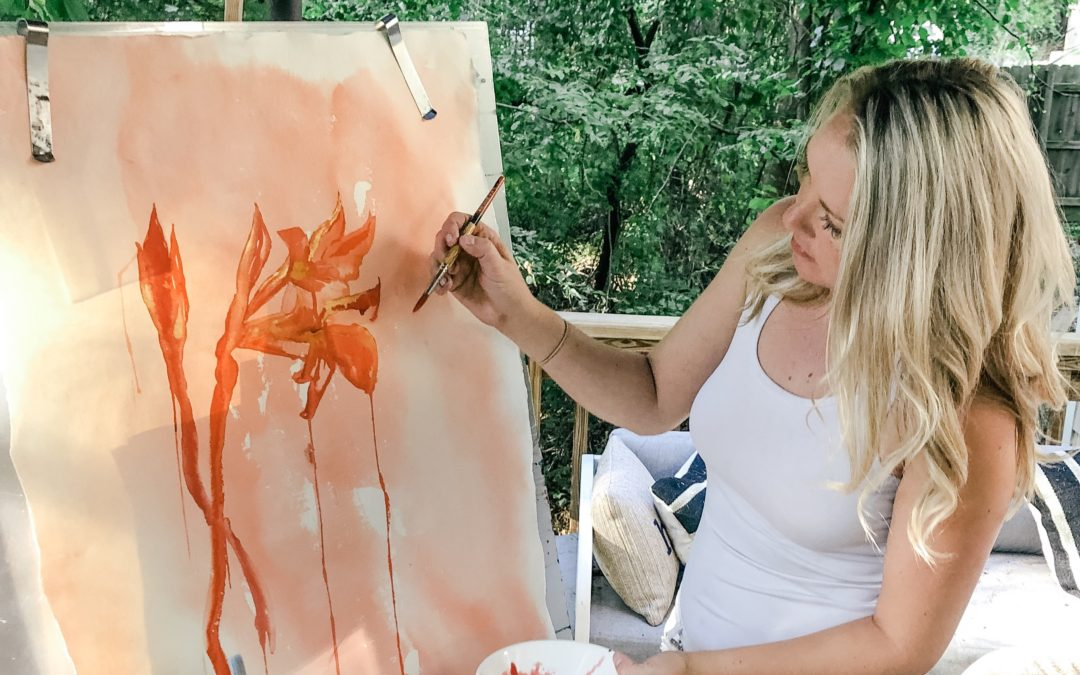 The Giverny Watercolor Collection Release at Atlas Beauty in West Asheville
